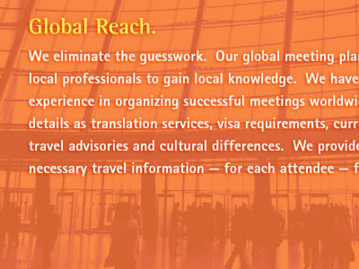TRG Meetings Brochure
